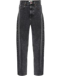 Étoile Isabel Marant Corsyj High-rise Straight Jeans - Black