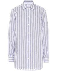 Victoria Beckham Hemd aus einem Baumwollgemisch - Weiß