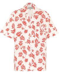 Lee Mathews Lulu Printed Cotton Shirt - Multicolour