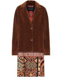 Etro - Wool And Alpaca-blend Coat - Lyst