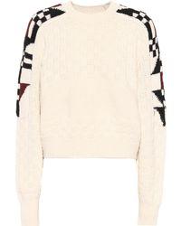Isabel Marant - Laytonn Cotton And Wool Sweater - Lyst