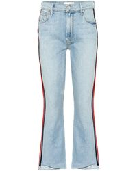 Mother - Jeans The Insider Crop Step Fray - Lyst