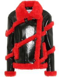 Stand Studio Melendy Faux Leather Jacket - Black