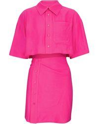 Jacquemus Exclusive To Mytheresa – La Chemise Arles Minidress - Pink