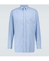 Etro - Long-sleeved Striped Shirt - Lyst