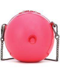 Marine Serre Ball Mini Pvc Shoulder Bag - Pink