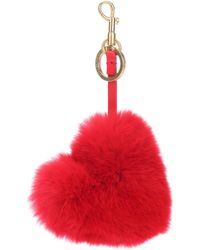 Anya Hindmarch - Tassel Rabbit Fur Bag Charm - Lyst