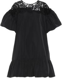 Valentino - Cotton-blend Dress - Lyst