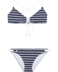 Polo Ralph Lauren - Criss Cross Back Bikini - Lyst
