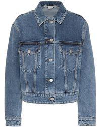 Stella McCartney Veste en jean - Bleu