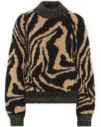 Ganni Pullover in lana e alpaca - Neutro