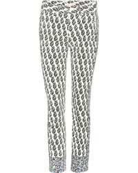 Tory Burch - Reya Cropped Jeans - Lyst