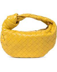 Bottega Veneta Bv Jodie Mini Leather Tote - Yellow