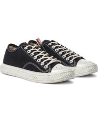 Acne Studios Canvas Sneakers - Black
