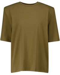 Frankie Shop Camiseta Carrington de algodón - Verde