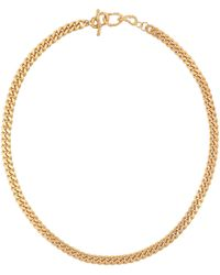 Elhanati X Man 24kt Gold-plated Chain Necklace - Metallic