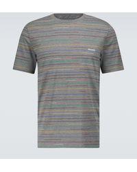 Missoni T-shirt in cotone con stampa - Grigio