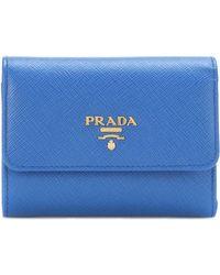 Prada - Leather Wallet - Lyst