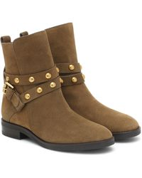 See By Chloé Stivaletti Neo Janis in suede - Marrone