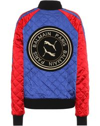 PUMA X Balmain Reversible Track Jacket - Multicolour