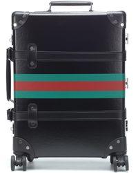 Gucci X Globe-Trotter – Valise à finitions en cuir - Multicolore