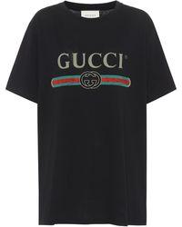 Gucci Oversized Logo T-shirt - Black