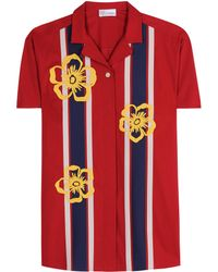 RED Valentino Stretch-cotton Top - Red