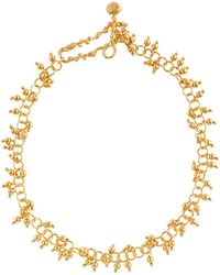 Alighieri The Scintillations Together 24kt Gold-plated Choker - Metallic