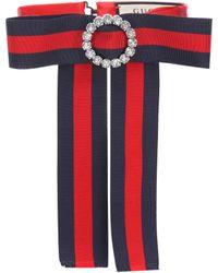 Gucci - Lazo de rayas para el cuello - Lyst