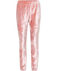 Nike Lab Velour Trackpants - Pink
