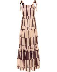 Johanna Ortiz Waterfront Printed Cotton Maxi Dress - Multicolor