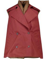 Loewe Layered Cotton-blend Down Vest