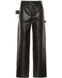 Bottega Veneta Pantaloni in pelle - Nero