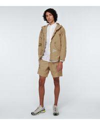 and wander Nylon Taffeta Hooded Jacket - Natural