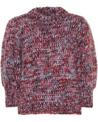 Ganni The Julliard Mohair-blend Jumper - Multicolour