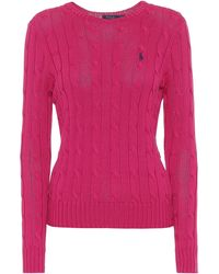 Polo Ralph Lauren Cotton Sweater - Pink