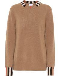 Burberry Pullover Eyre in cashmere - Neutro
