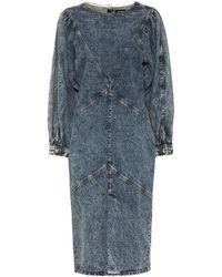 Isabel Marant Abito di jeans Udrea - Blu
