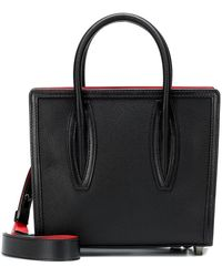 Christian Louboutin Paloma Mini Leather Tote - Black