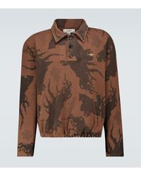 Phipps Sweat-shirt Methuselah avec col - Marron