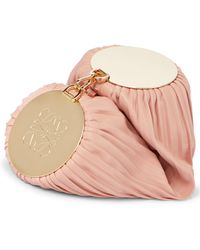 Loewe Bolso Bracelet de piel convertible - Rosa
