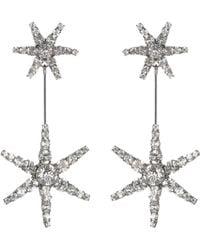 Jennifer Behr - Starburst Crystal Earrings - Lyst