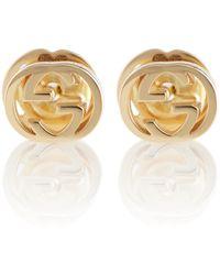 Gucci Orecchini GG in oro 18kt - Metallizzato