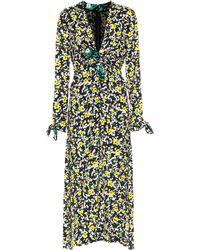 Proenza Schouler - Bedrucktes Kleid aus Georgette - Lyst