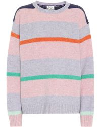 Acne Studios Striped Wool Jumper - Multicolour