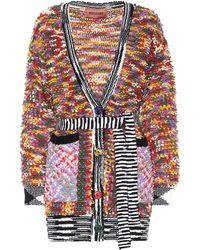Missoni Cardigan en laine mélangée - Multicolore