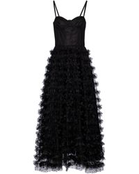 RED Valentino Tulle Gown - Black