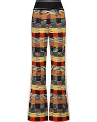 Palm Angels X Missoni – Pantalon en laine mélangée - Multicolore