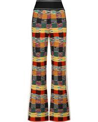 Palm Angels X Missoni Wool-blend Trousers - Multicolour