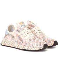 27b5de9220478 adidas Originals - Deerupt Pride Knitted Sneakers - Lyst
